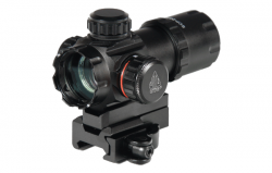 "Коллиматорный прицел Leapers UTG 3.9"" ITA Red/Green Dot Sight with Integral QD Mount (SCP-DS3039W)"