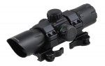 """Коллиматорный прицел Leapers UTG 6.4"""" ITA Red/Green CQB Dot Sight with 1-piece QD Rings (SCP-DS3068W)"""