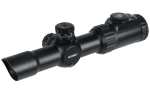 Оптический прицел Leapers UTG 1-4.5X28 30mm CQB Scope, 36-color Glass Mil-dot (SCP3-145IEMDQ)