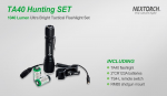 Комплект Nextorch TA40 HUNTING SET
